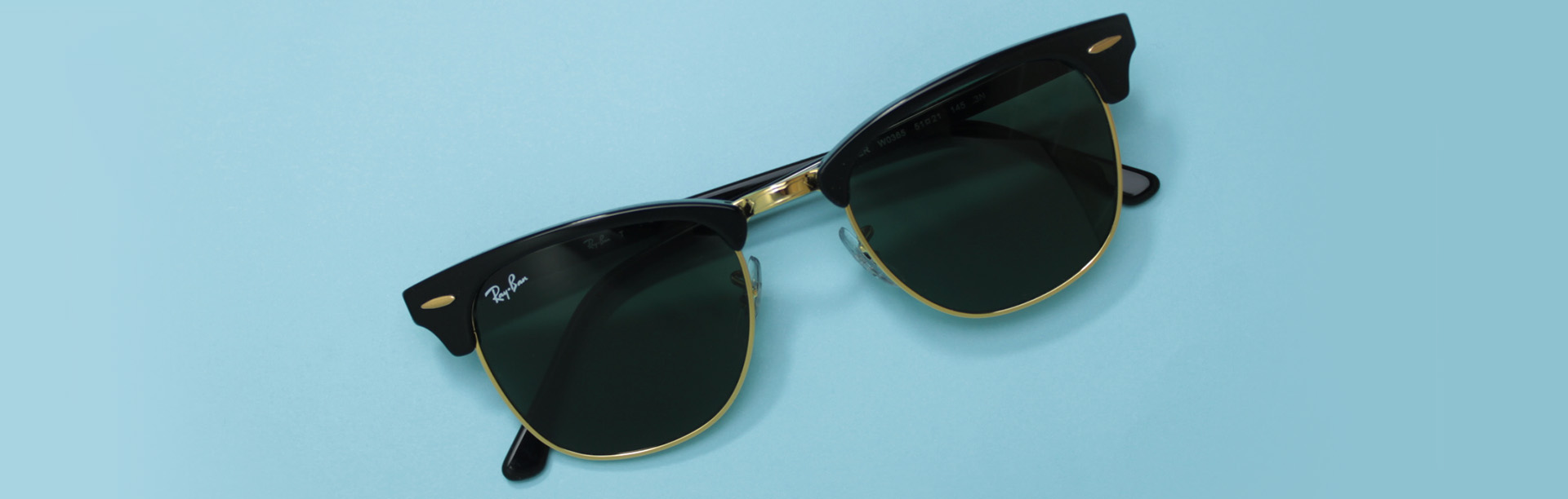 Ray-Ban Clubmaster 3016 sunglasses Review Bottom Banner | EyeWearThese.com