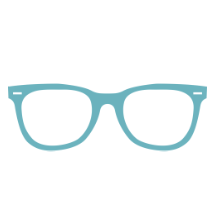 glasses icon for Digital Blue Light Protection | EyeWearThese.com