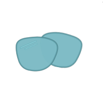 Lens icon for Digital Blue Light Protection | EyeWearThese.com