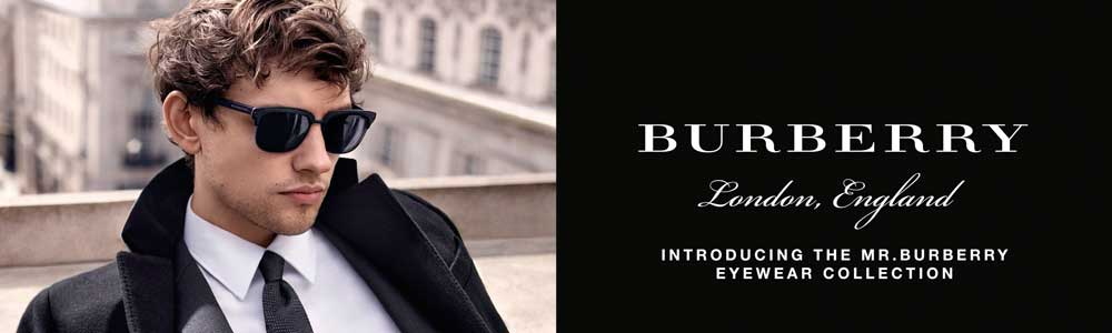 Burberry - Mr Burberry Collection | Burberry Banner for Mr Burberry Collection | EyeWearThese