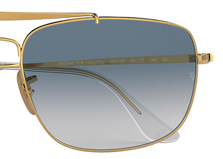 Ray-Ban Colonel RB3560 | Colonel Colour Swatch 001 3F | EyeWearThese offical online sellers
