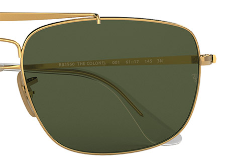 Ray-Ban Colonel RB3560 | Colonel Colour Swatch 001 | EyeWearThese offical online sellers