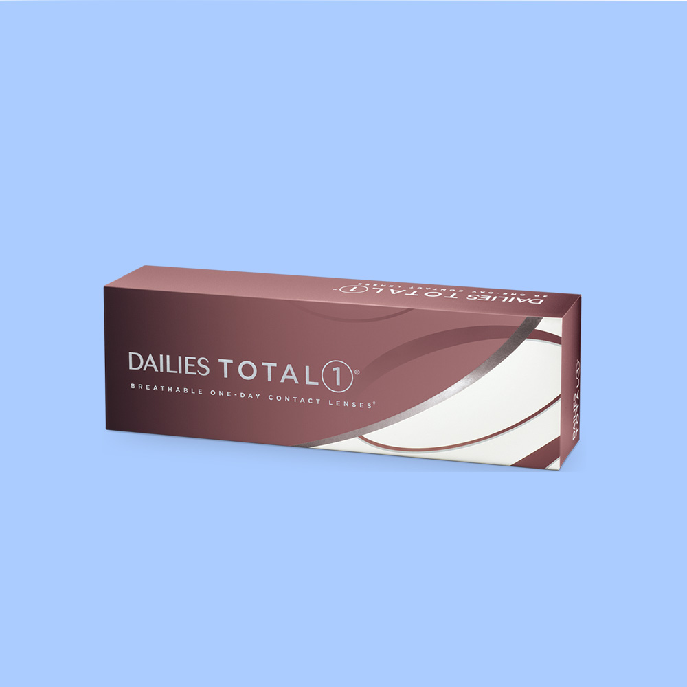 Packet of Dailies Total 1 Contact Lenses | EyeWearThese.com