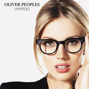 Oliver Peoples Brand Banner | EyeWearThese.com
