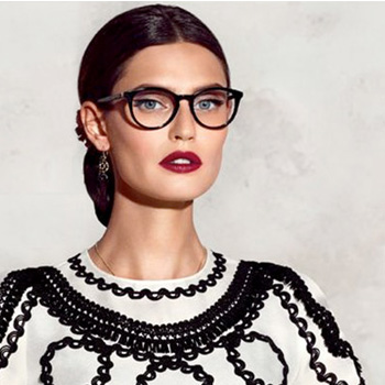 Dolce and Gabbana Glasses Brand Banner Image | EyeWearThese.com