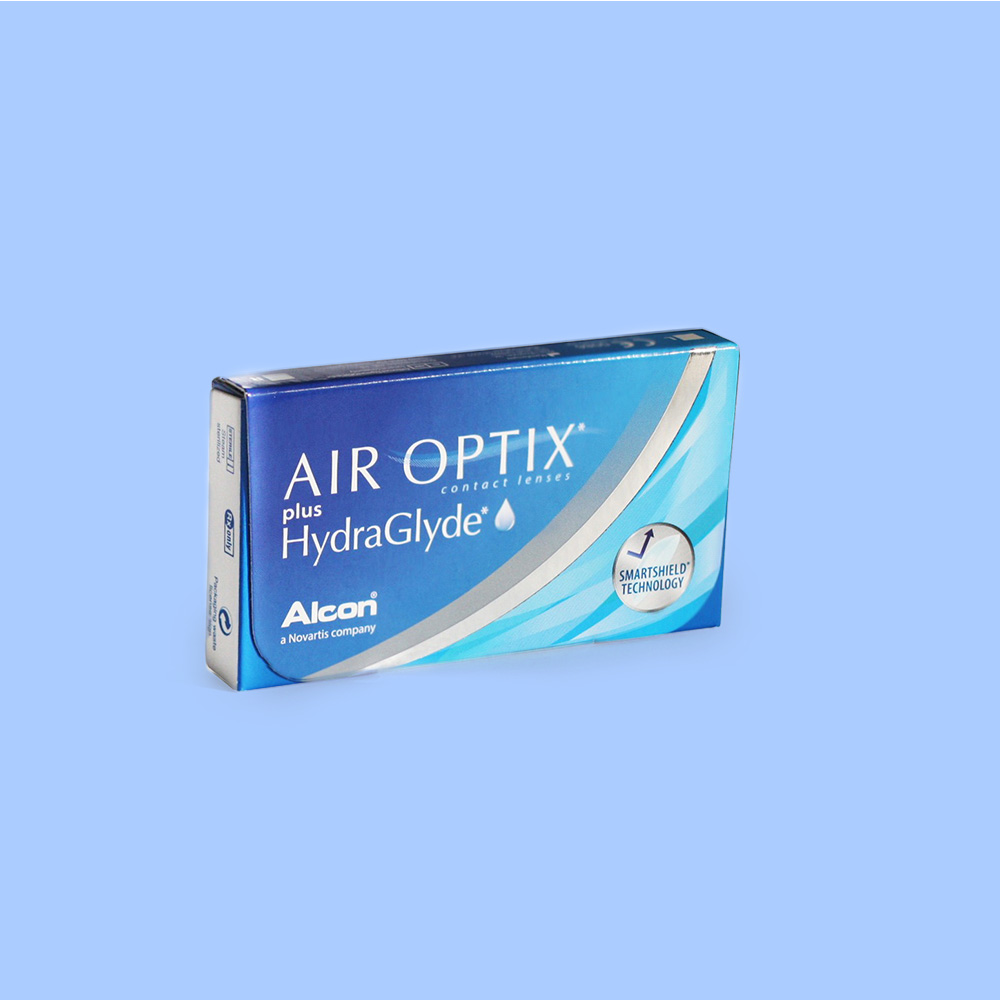 Packet of Air Optix HydroaGlyde Contact Lenses | EyeWearThese.com