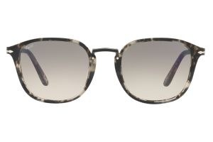 Persol PO3186S Spotted Grey Black 106332 51mm Sunglasses | EyeWearThese