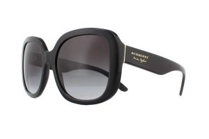 Burberry BE4259 Black 30018G 56mm Sunglasses | EyeWearThese