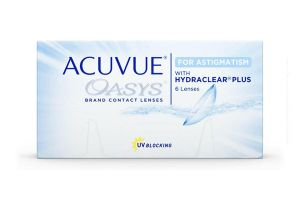 Acuvue Oasys for Astigmatism Contact Lenses | EyeWearThese
