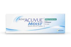1 Day Acuvue Moist Multifocal with Lacreon Contact Lenses | EyeWearThese
