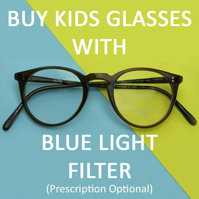 Kids Glasses for Blue Light Exposure Girls pink Ray-Bans