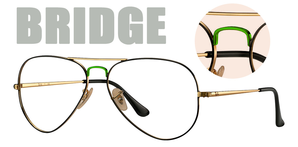 Basics of designer eyewear - Bridge | Bridge on glasses image | EyeWearThese