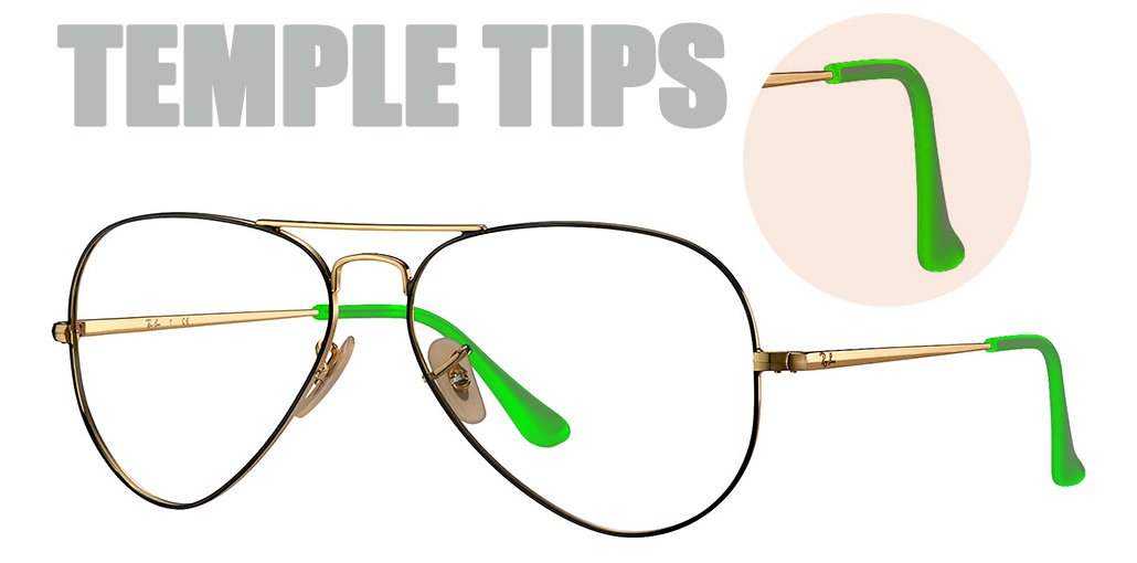 Basics of designer eyewear | Temple Tips | EyeWearThese