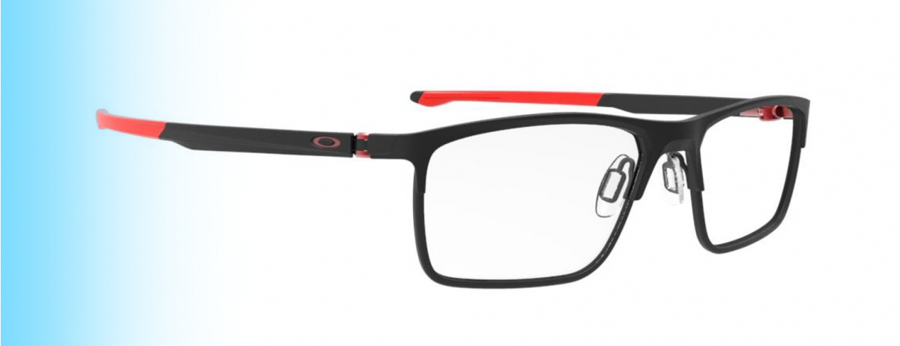 Oakley Cartridge OX5137 | New Oakley Cartridge OX5137 with red temple tips | EyeWearThese.com
