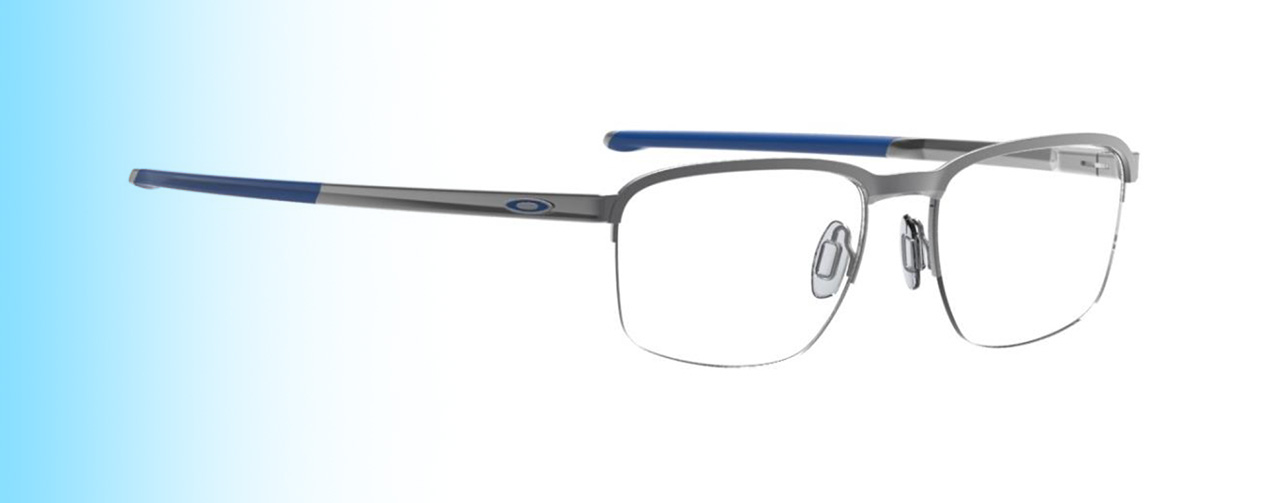 Oakley Cathode OX3233 | Oakley Cathode OX3233 in grey blue | EyeWearThese.com