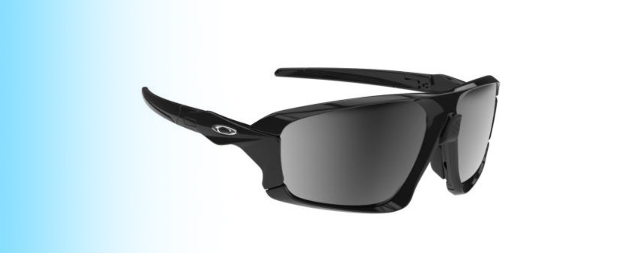 Oakley Field Jacket OO9402 | Oakley Field Jacket OO9402 in Black with Silver Logo | EyeWearThese.com