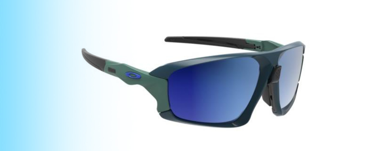 Oakley Field Jacket OO9402 | Oakley Field Jacket OO9402 in Green and blue | EyeWearThese.com