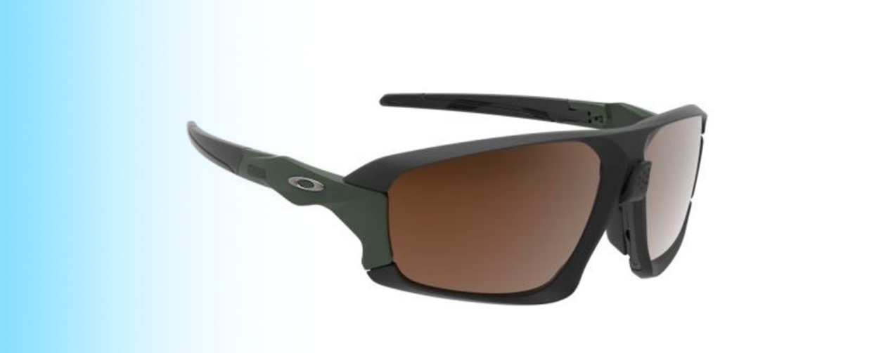 Oakley Field Jacket OO9402 | Oakley Field Jacket OO9402 in brown and black | EyeWearThese.com