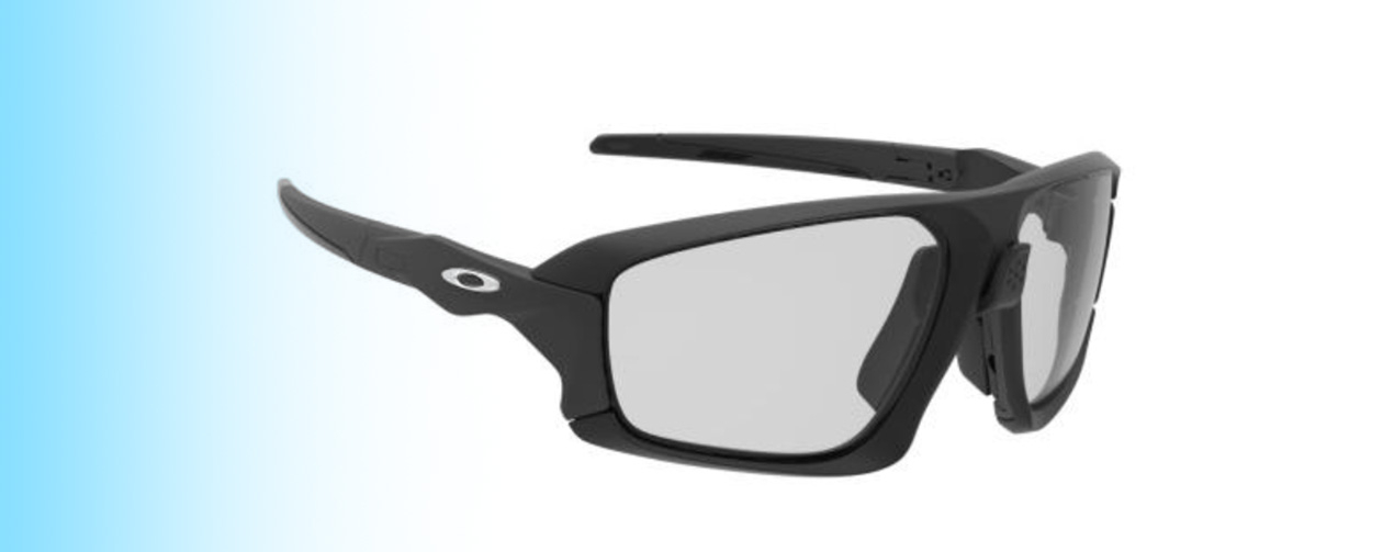 Oakley Field Jacket OO9402 | Oakley Field Jacket OO9402 in grey and black | EyeWearThese.com