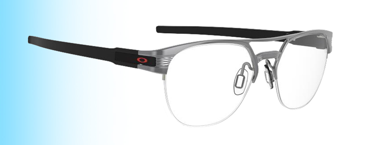 Oakley Latch® TI | Oakley Latch® TI in matte clement with red logo | EyeWearThese.com