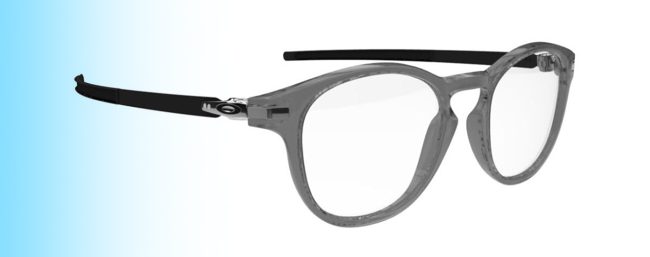 Oakley Pitchman R Carbon OX8149 | Oakley Pitchman R Carbon OX8149 in grey and black | EyeWearThese.com
