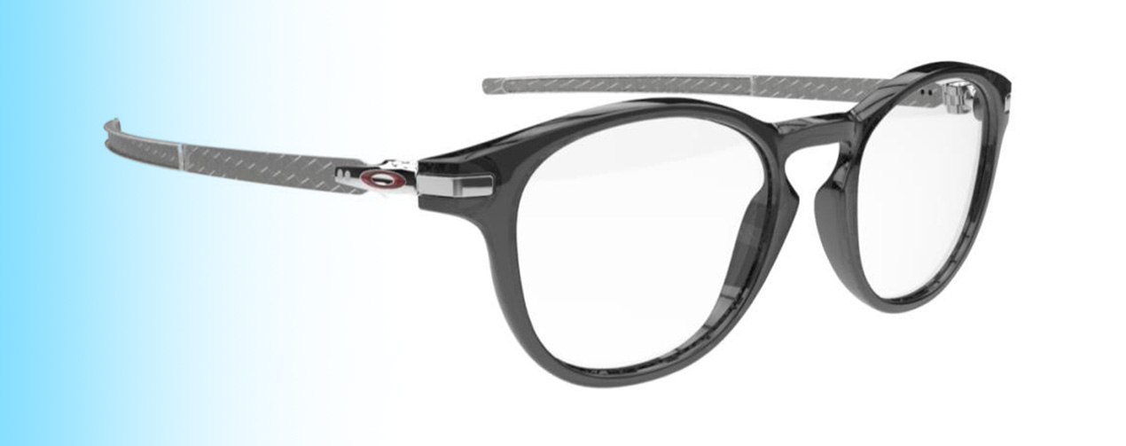 Oakley Pitchman R Carbon OX8149 | Oakley Pitchman R Carbon OX8149 in polished grey | EyeWearThese.com