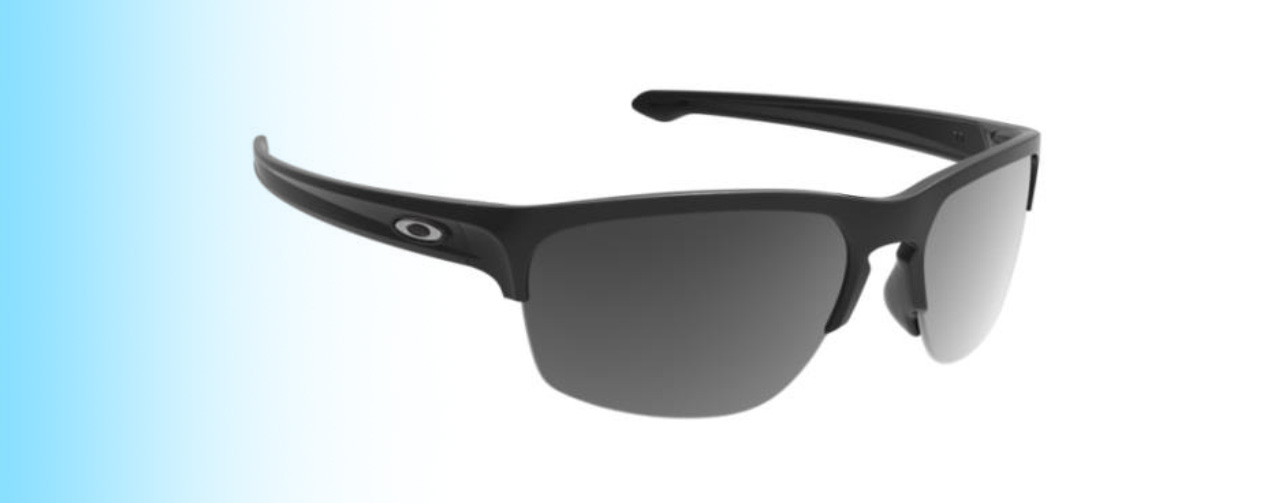 Oakley Sliver®Edge OO9413 | Oakley Sliver®Edge OO9413 in polished black | EyeWearThese.com