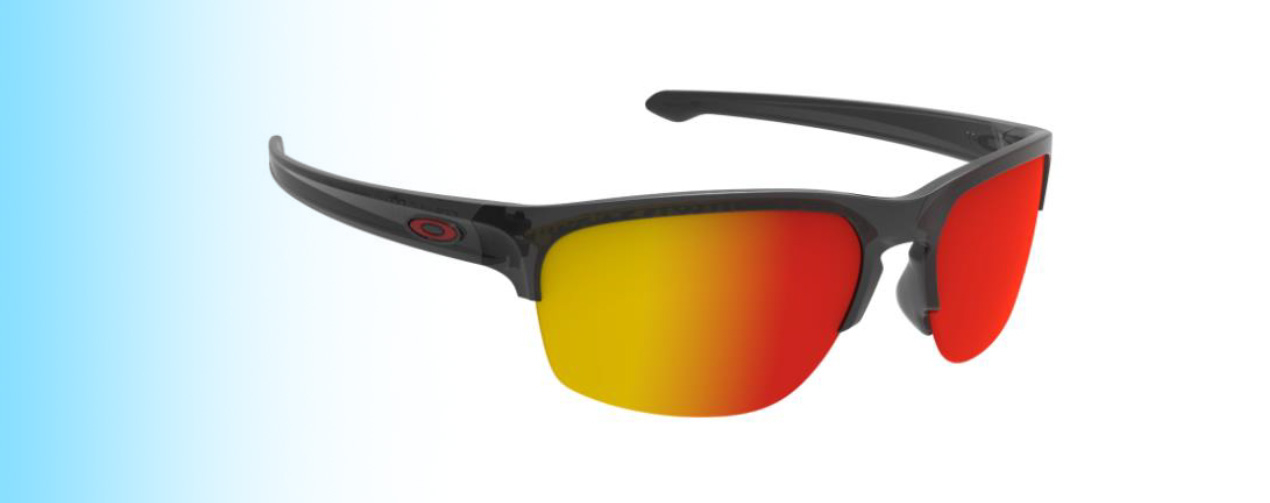 Oakley Sliver®Edge OO9413 | New Oakley Sliver®Edge OO9413 with red lens | EyeWearThese.com