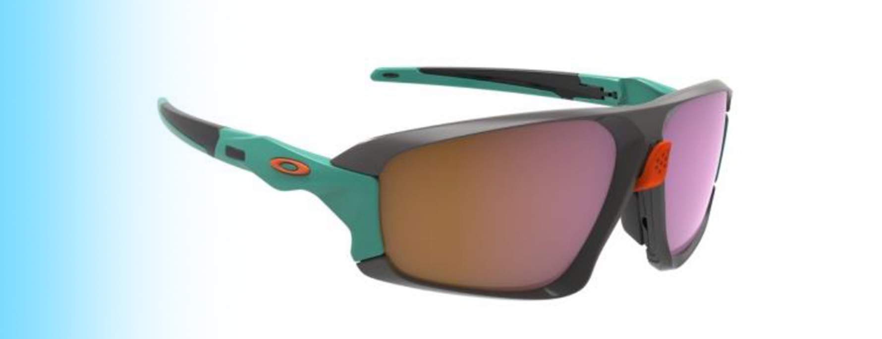 Oakley Field Jacket OO9402 | Oakley Field Jacket OO9402 in green and orange | EyeWearThese.com