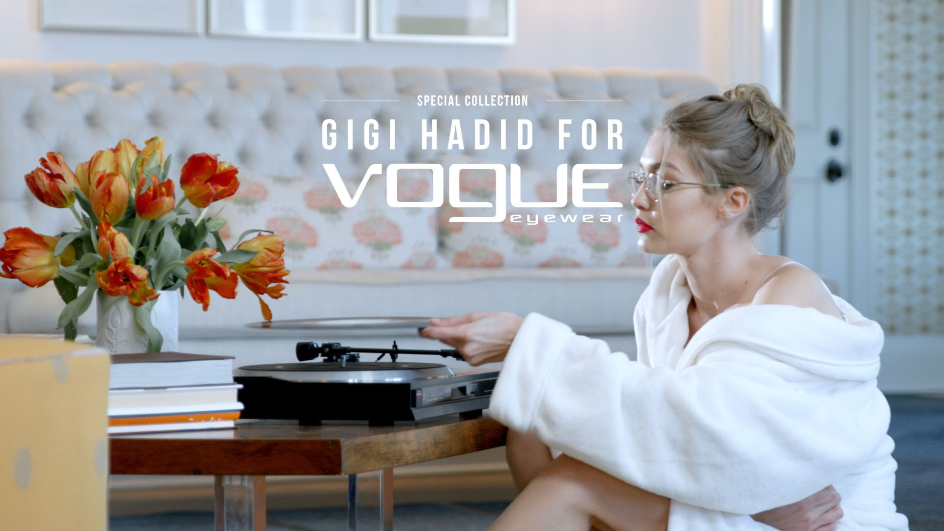 Vogue VO4015 | Gigi Hadid banner for Vogue Gigi Hadid Collection Vogue VO4015 | EyeWearThese.com