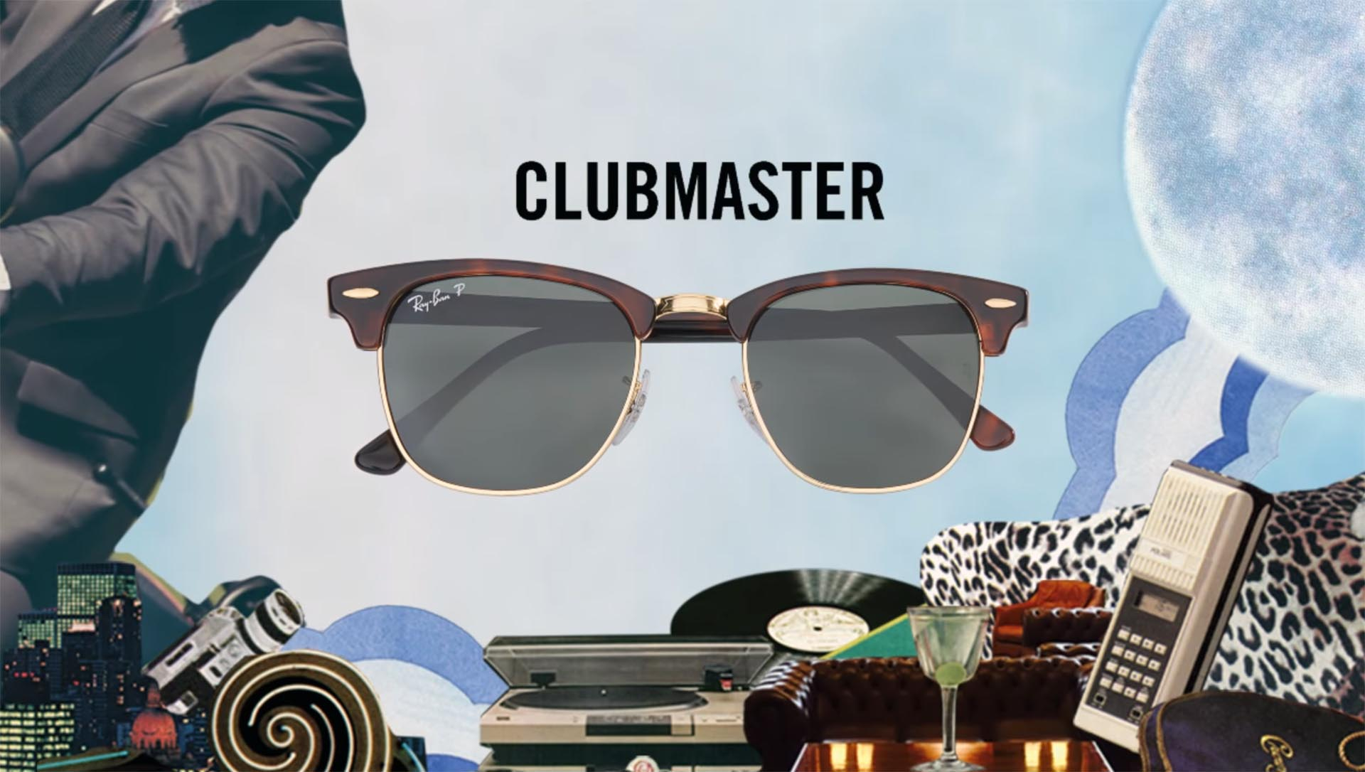 Ray-Ban Cluboval rb3716 | Clubmaster Oval RB3716 sunglasses