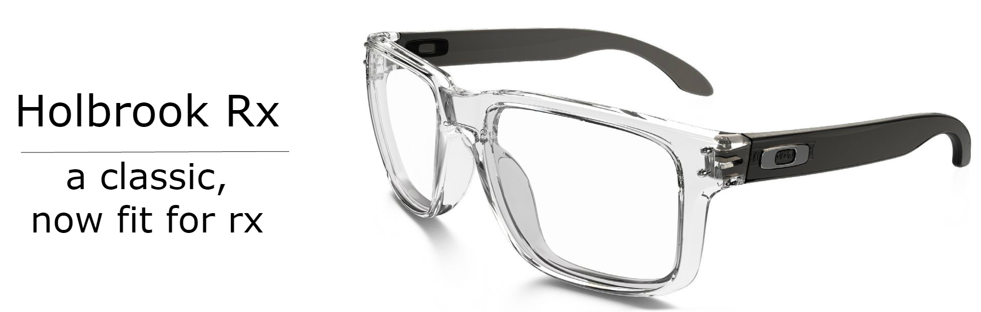 Oakley Holbrook Glasses OX8156 Product Banner | EyeWearThese