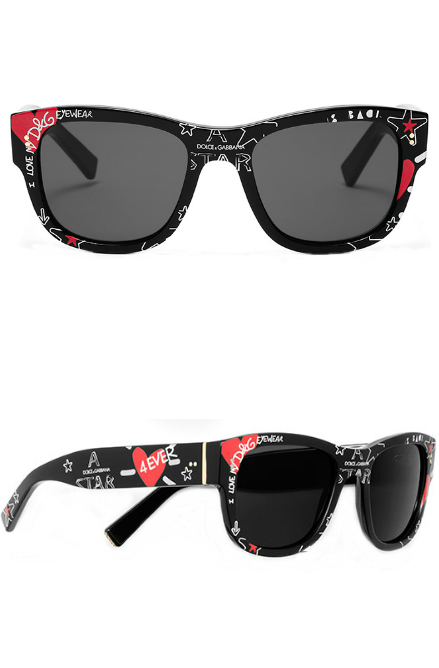 Dolce and Gabbana Graffiti Collection | Dolce and Gabbana 4338 Sunglasses | EyeWearThese