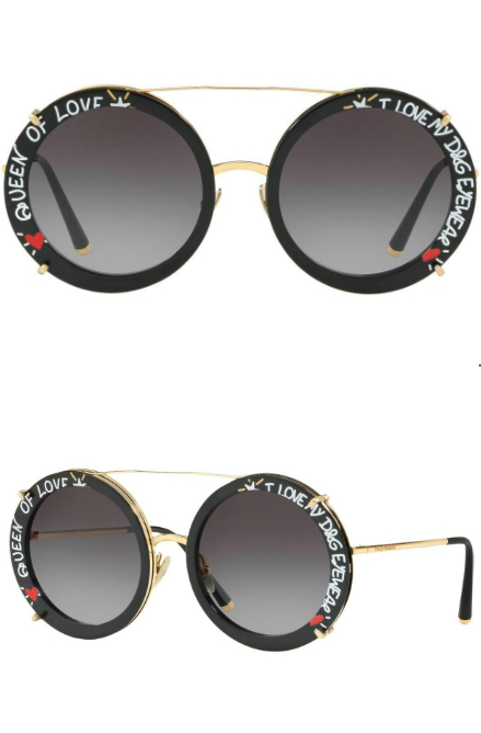 Dolce and Gabbana Graffiti Collection | Dolce and Gabbana 2198 Sunglasses | EyeWearThese