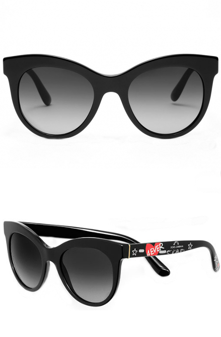 Dolce and Gabbana Graffiti Collection | Dolce and Gabbana 4331 Sunglasses | EyeWearThese