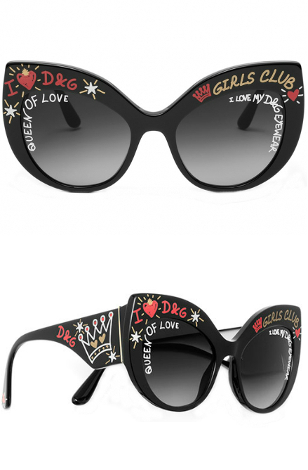 Dolce and Gabbana Graffiti Collection | Dolce and Gabbana 4321F Sunglasses | EyeWearThese