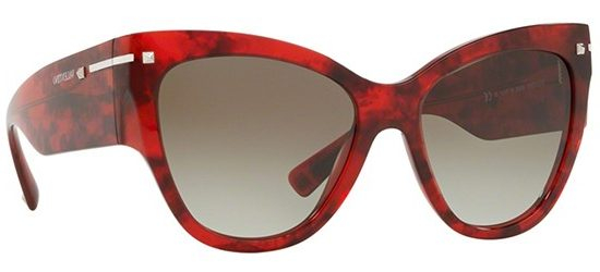 Valentino VA4028 | Valentino VA4028 Sunglasses on an angle | EyeWearThese.com