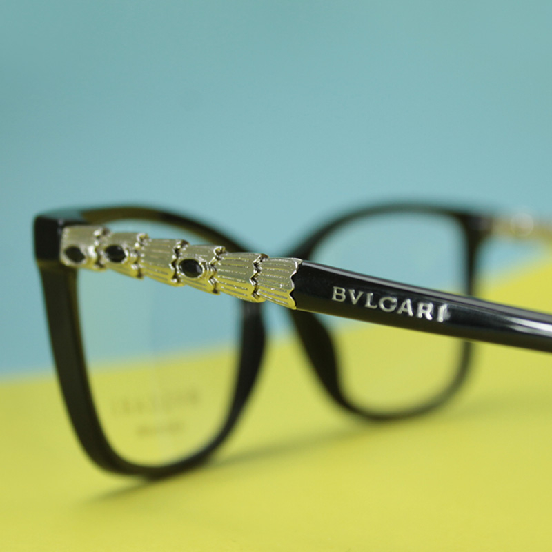Bvlgari 4130KB Glasses zoomed in on temple for In Focus Blog | EyeWearThese.com