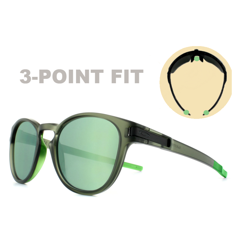 Oakley Terminology | 3 Point Fit on Oakley Latch Sunglasses | EyeWearThese