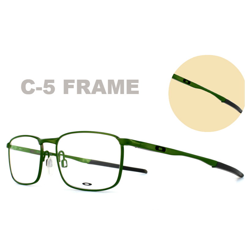 Oakley Terminology | C-5 Frame on a Oakley Barrel House Frame | EyeWearThese