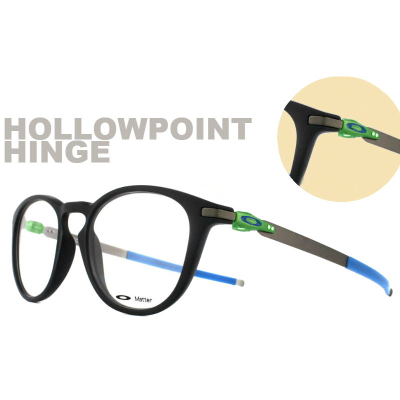 Oakley Terminology | Holowpoint Hinge on Oakley Pitchman R | EyeWearThese