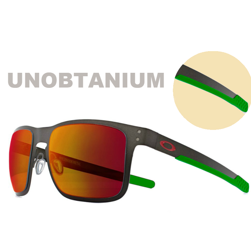 Oakley Terminology | Unobtanium on Holbrook Metal Sunglasses | EyeWearThese