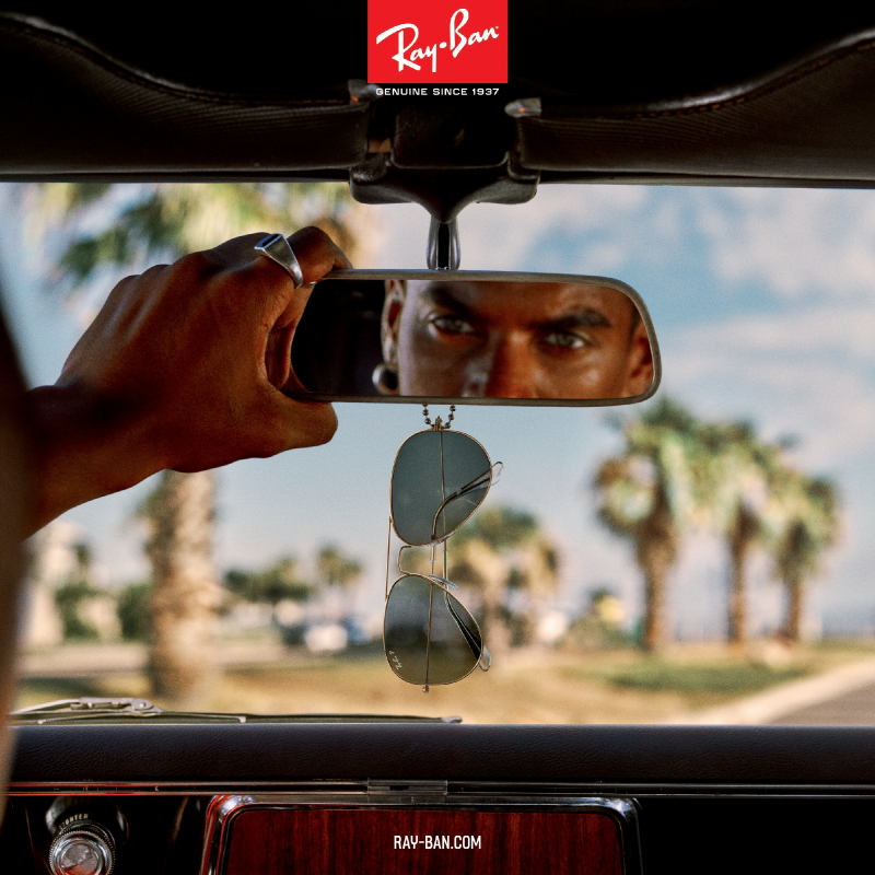 Ray-Ban Sunglasses banner | EyeWearThese.com