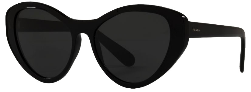 Prada PR14US | Front angle of Prada PR14US Sunglasses | EyeWearThese.com